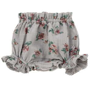 Tocoto Vintage Flowers Print Bloomers