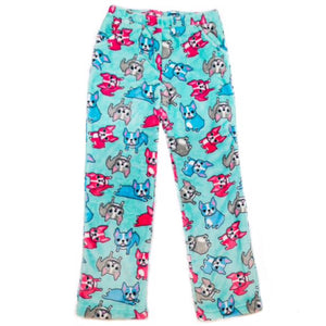 Candy Pink French Bulldog Pants