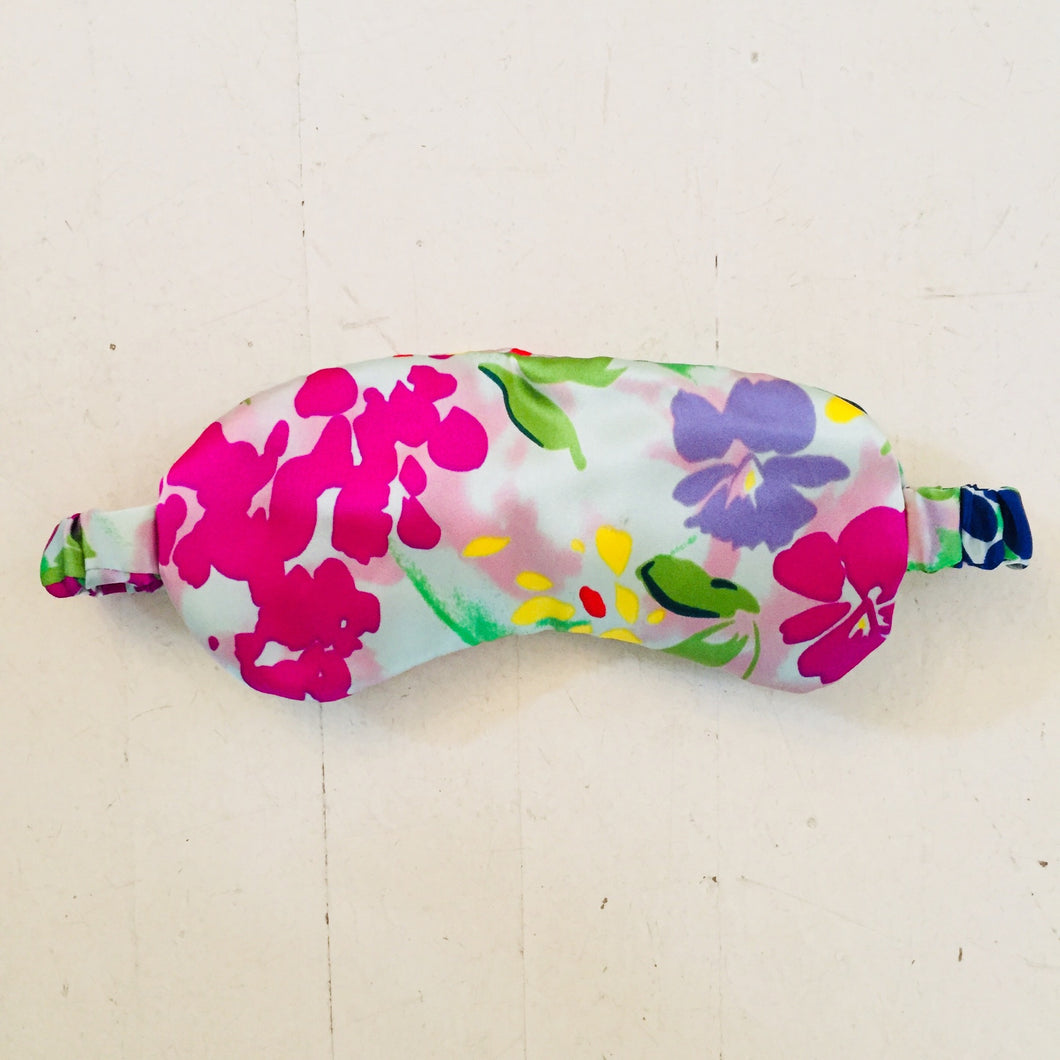 Oh So Lux Colorful Floral Eye Mask