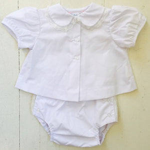 Lullaby Set White Lace Outfit