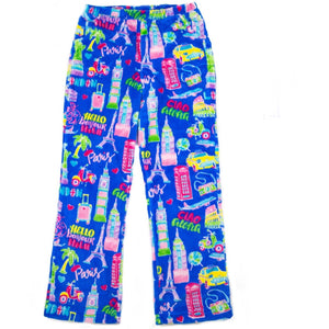 Candy Pink Travel Pants