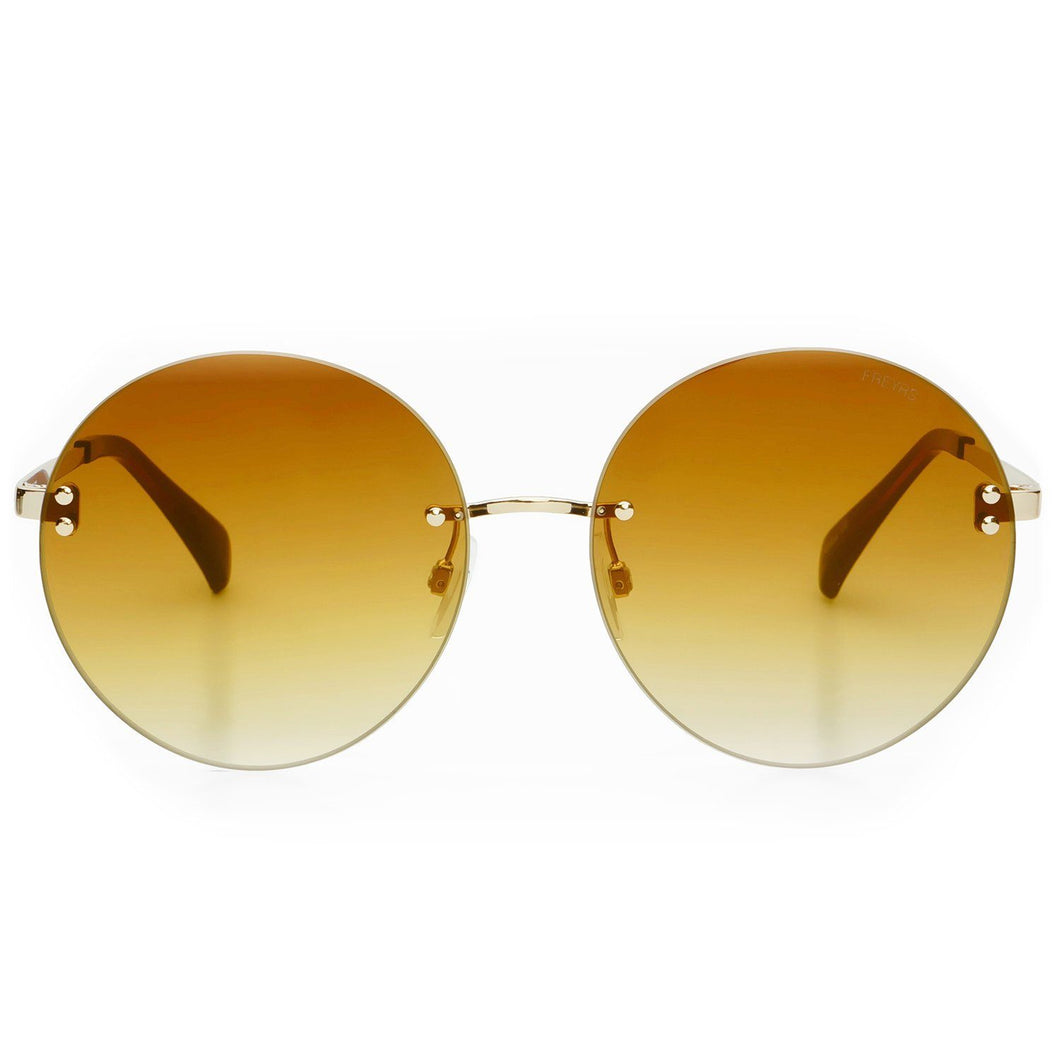 Freyrs Lisa Sunglasses in Gold Gold