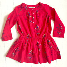 Bonpoint Bettina Red Floral Dress