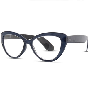 RS Eyeshop Cateye Glasses in Navy