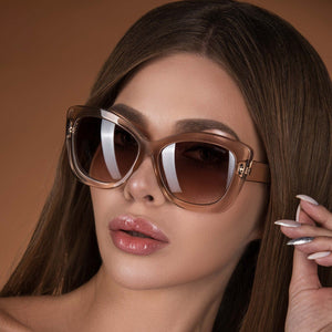 Freyrs Fiona Sunglasses in Tan