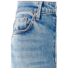GRLFRND Carla High Rise Wide Leg Jeans in Dark Denim