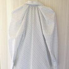 Tish Cox Tammy Top in Diagonal Blue & White Stripes