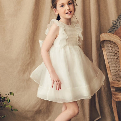 Nellystella Mae Dress in Vintage White