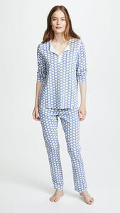 Roller Rabbit Elephant Pajamas in Blue