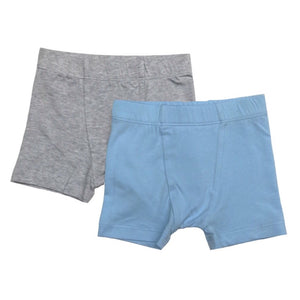 Esme 2 Pack of Boxer Briefs in Blue & Grey