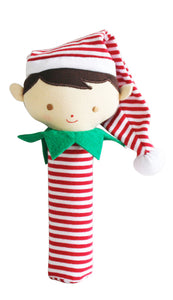 Alimrose Cheeky Elf Boy Squeaker and Rattle