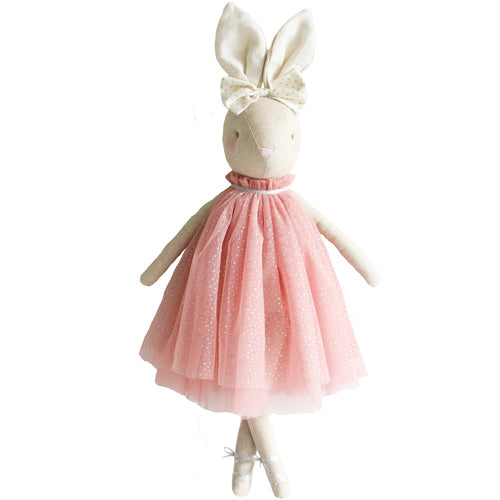 Alimrose Daisy Bunny in Blush Dress