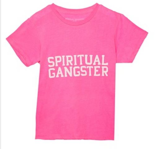 Spiritual Gangster Girls Tee in Cotton Candy