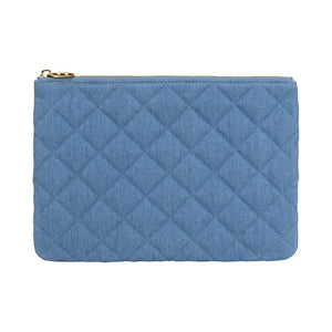 Stoney Clover Lane Blue Jean Flat Pouch
