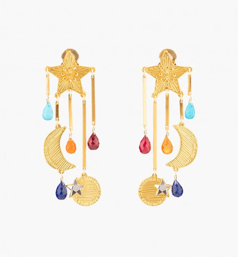 Mercedes Salazar Magic Rainbow Star Earrings