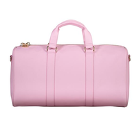 Stoney Clover Pink Textured Duffle Bag