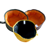 Oxford Cloth Collapsible Travel Pet Cat Food Bowl