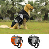 TAILUP 600D Nylon Outdoor Travel Dog Backpack Pet Saddle Bag for Training Camping Hiking Carrying Food Drink New Arrival