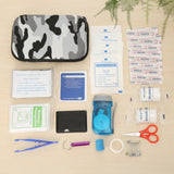 Medical Emergency Survival Kits Pouch Portable Treatment Pack 3-color Camouflage