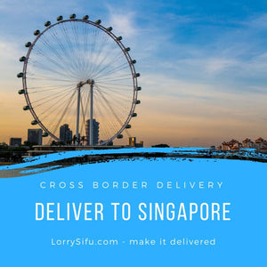 Small truck or lorry to deliver your goods from Johor Bahru, Malaysia to Singapore (JB to SG)