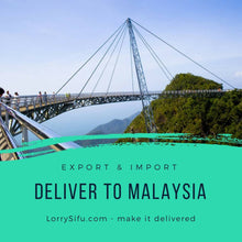 Singapore to Johor Bahru, Malaysia (SG to JB) lorry delivery service