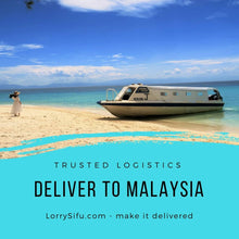 Export and import delivery service between Johor Bahru, Malaysia and Singapore with smaller lorry or truck