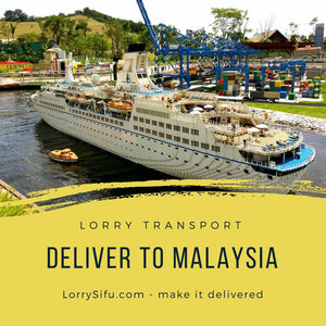 Pallet pick up and delivery service between Singapore and Malaysia