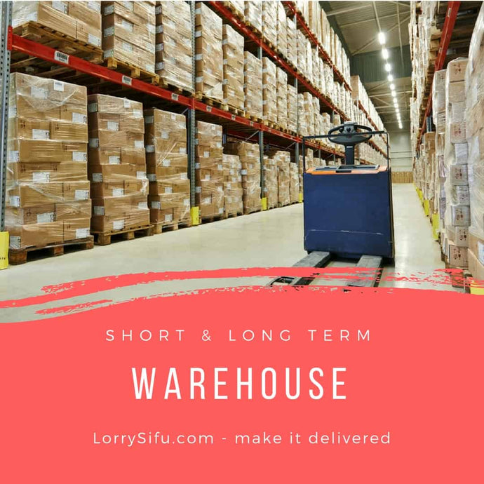 Cheaper warehouse at strategic location to store and keep stocks