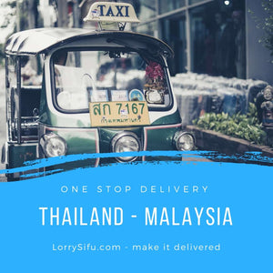 Lorry delivery service between Malaysia and Thailand