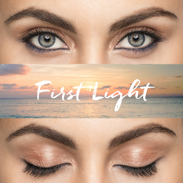 First Light Make-Up Look
