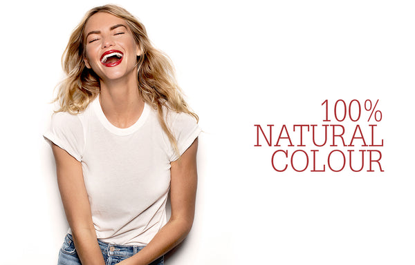 100% Natural Colour