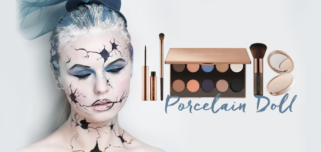 porcelain doll halloween makeup