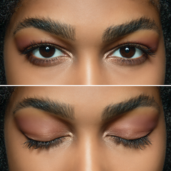 Day look created with Natural Illusion Eye Palette 02 Soft Rose