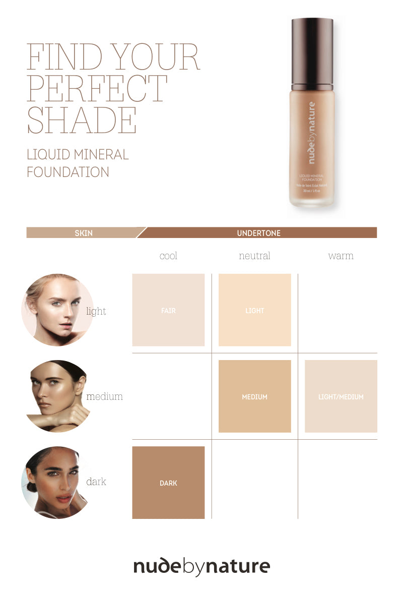 Natural Mineral Cover Foundation – Nude by Nature AU