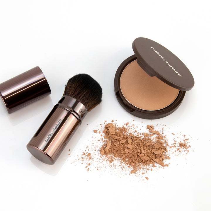 Pressed Mineral Cover Foundation & Travel Brush Duo
