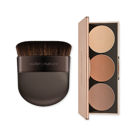 Ultimate Perfecting Brush & Contour Palette Duo