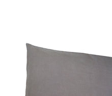 Warm grey 100% Hemp Linen Pillow Slips
