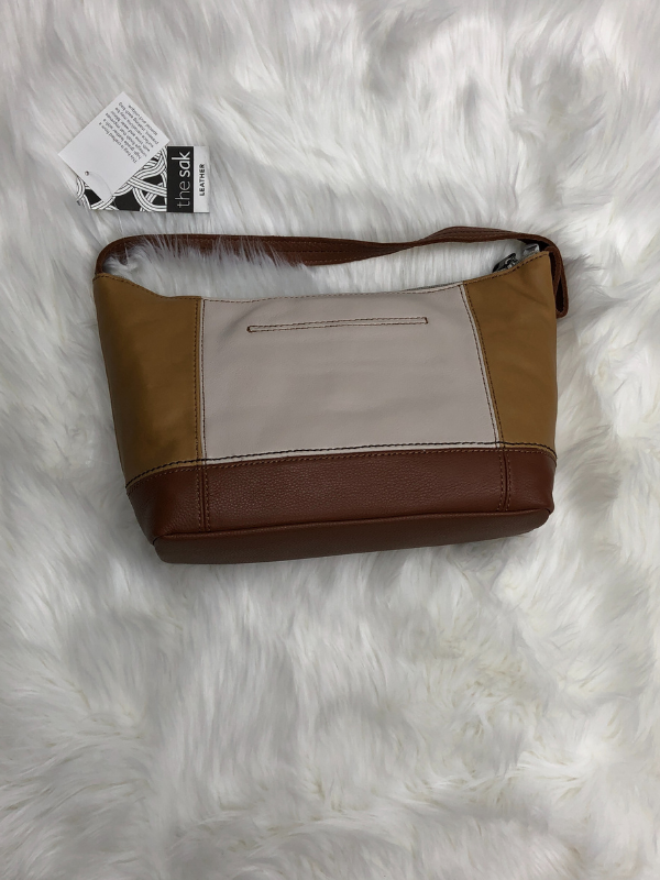 Scotch Block Leather Small Handbag