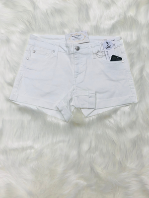 Celebrity Pink White Denim Shorts