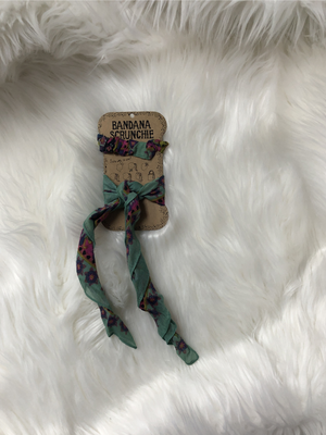 Bandana Scrunchie Multi
