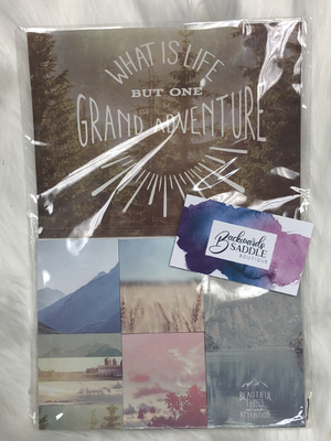 Grand Adventure Sticky Notes