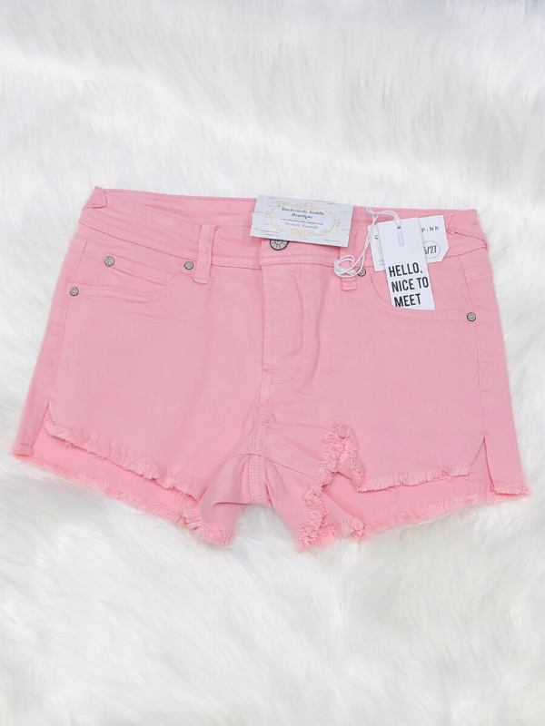 Celebrity Pink Pink Denim Shorts