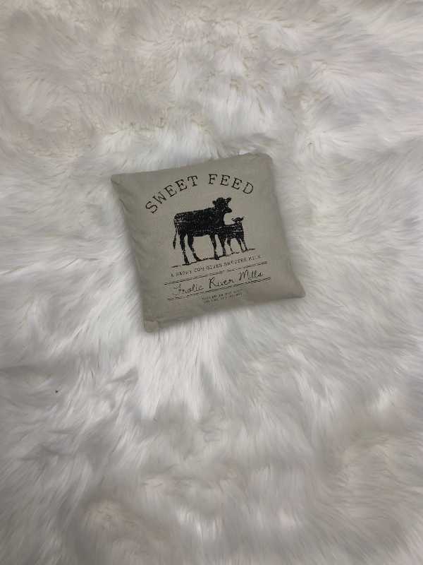 Sweet Feed Pillow
