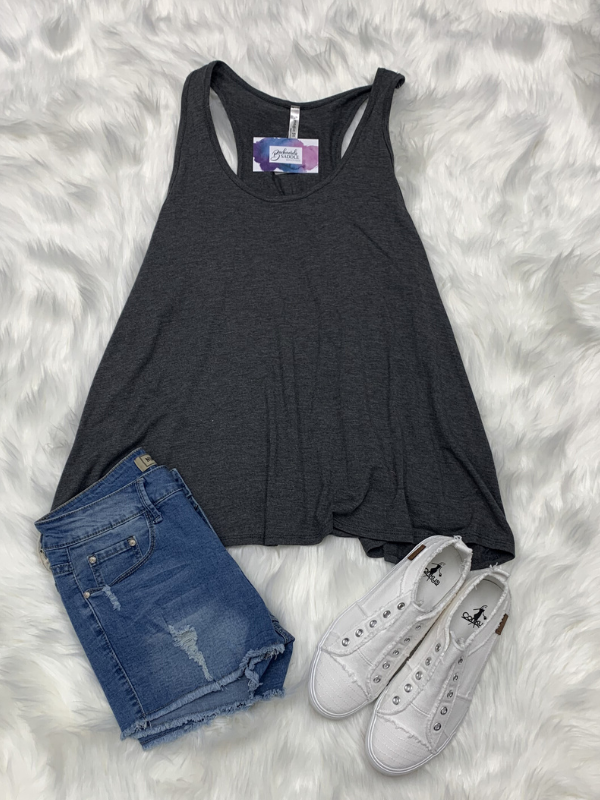 Plus Racerback tank top