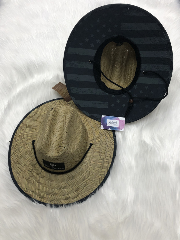 Old South Blackout Straw Hat