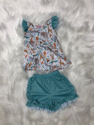 Aqua Zoo Girls Set