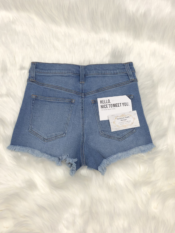 Celebrity Pink Santa Rosa Denim Shorts