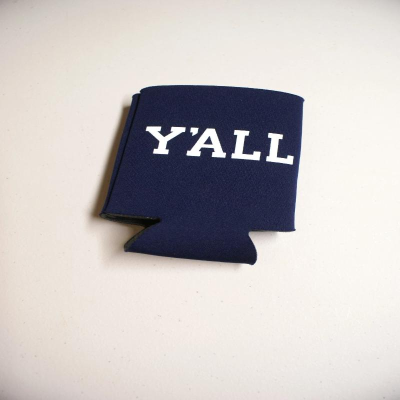 Navy Y'All Koozie