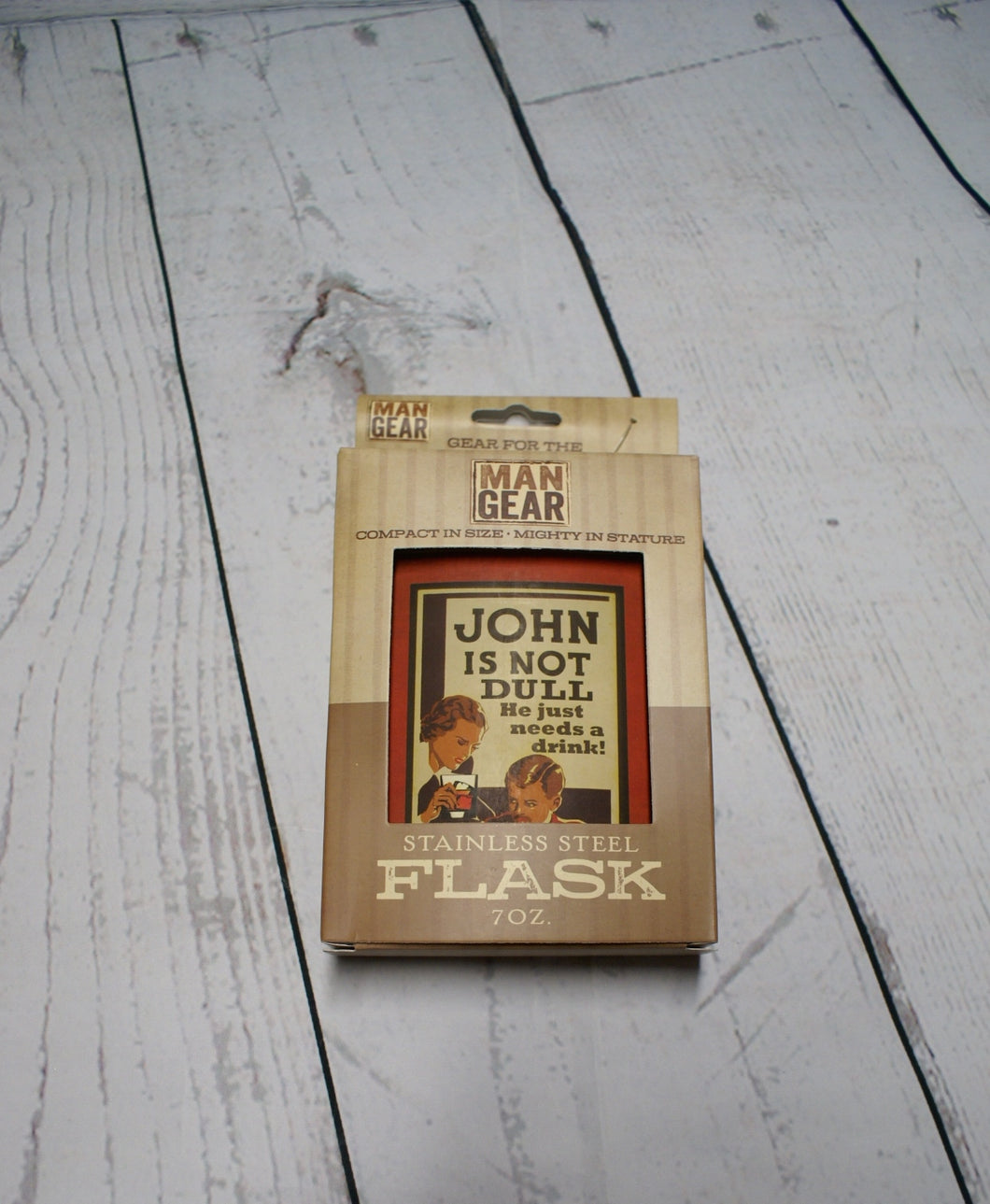John Stainless Steel Flask