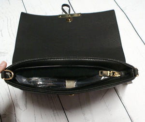 Leather Messenger Purse